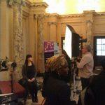 Informal gathering at Global Careers' Conference in Birmingham