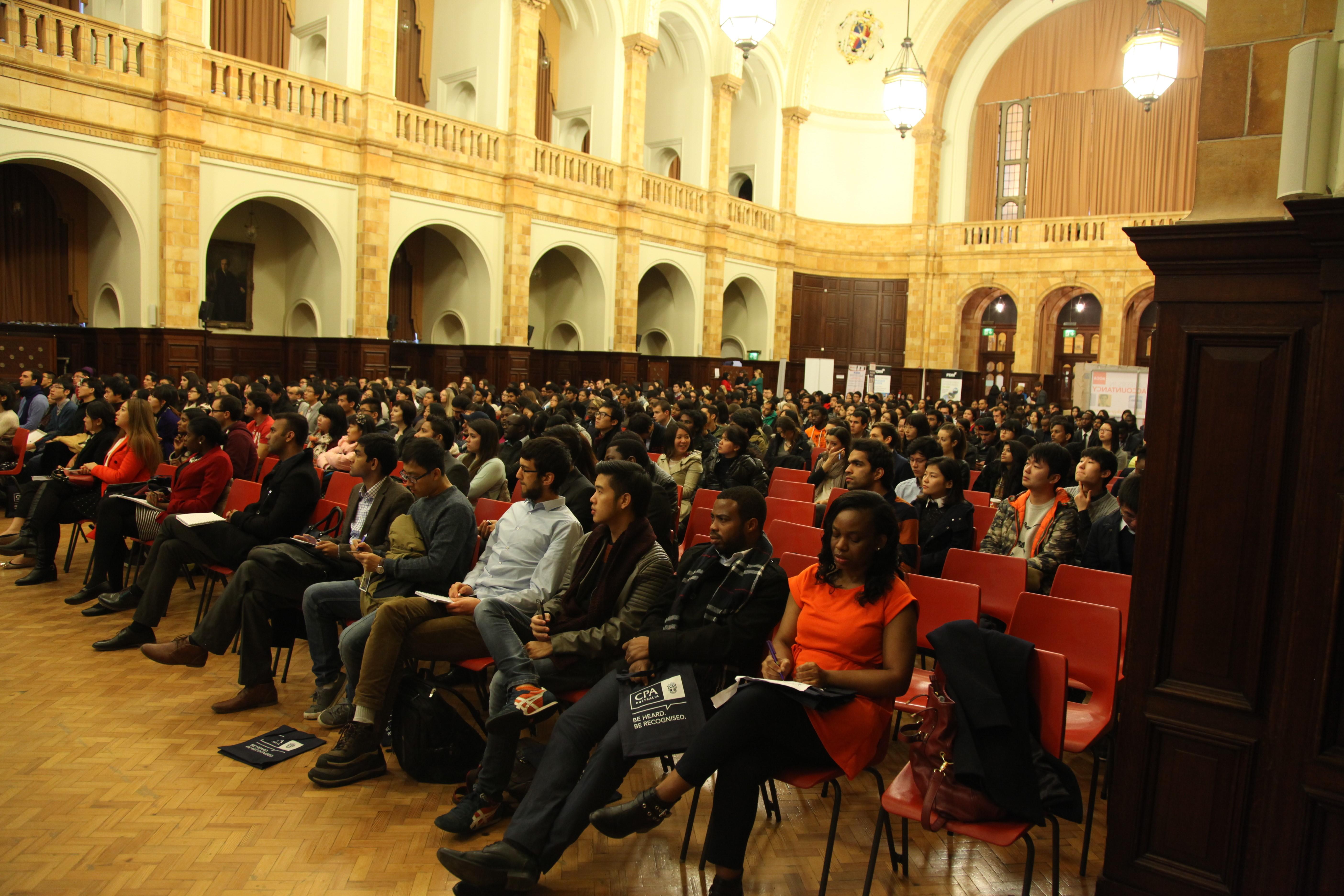 Delegates at Global Careers' Conference in Birmingham